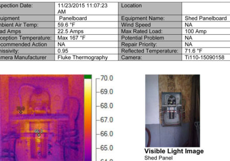 Thermo Image Report